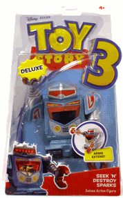 Toy Story 3 - Deluxe Seek N Destroy Sparks
