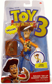 Toy Story 3 - Deluxe Round Em Up Sheriff Woody