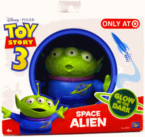 Toy Story 3 - Exclusive Glow In The Dark Mini Figure Alien