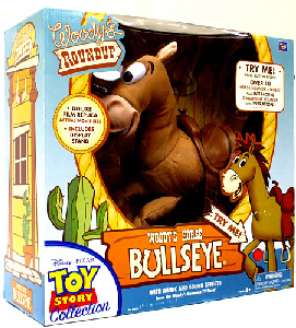 Toy Story 3 - 16-Inch Woody Roundup Talking Bullseye Doll