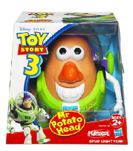 Toy Story 3 - Mr. Potato Head - Spud Lightyear