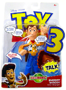 Toy Story 3 - Electronic Talking Sheriff Woody