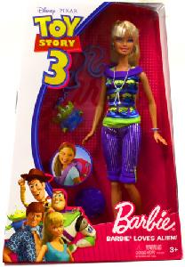 Toy Story 3 - Barbie Loves Alien