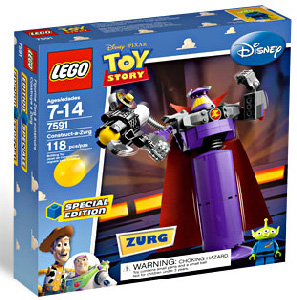 Toy Story LEGO - Zurg Exclusive - 7591