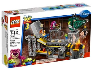 Toy Story 3 LEGO - Trash Compactor Escape[7596]