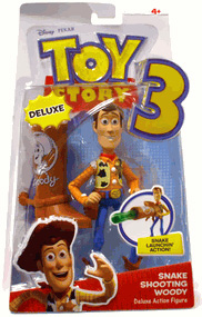 Toy Story 3 - Deluxe Snake Shooting Woody