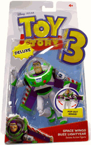 Toy Story 3 - Deluxe Space Wings Buzz Lightyear