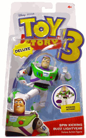 Toy Story 3 - Deluxe Spin Kicking Buzz Lightyear