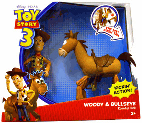 Toy Story 3 - Woody and Bullseye Roundup Pack