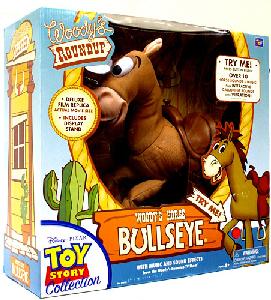 Toy Story 3 - 16-Inch Woody Roundup Talking Bullseye Doll