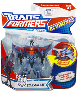 Animated Activators - Starscream