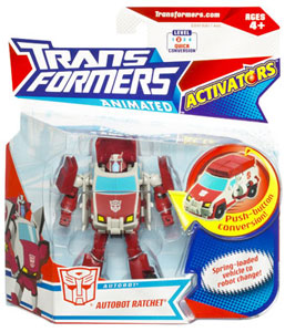 Animated Activators - Autobot Ratchet