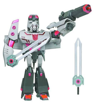 Animated Leader - Megatron Earth Mode