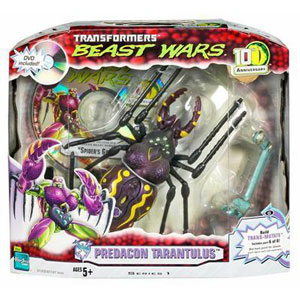 BEAST WARS 10th Anniversary: PREDACON TARANTULUS with Bonus DVD
