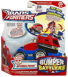 Animated Bumper Battlers - Optimus Prime