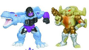 Universe Robot Heroes - Megatron and Rattrap