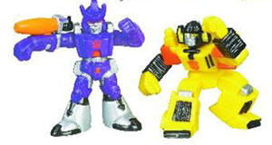 Universe Robot Heroes - Galvatron  and Sunstreaker