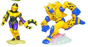 Universe Robot Heroes - Blackarachnia and Cheetor