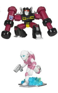 Universe Robot Heroes - Rumble and Arcee
