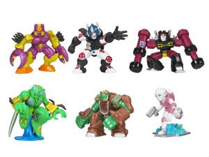 Transformers Universe Robot Heroes - Wave 2 Set of 3