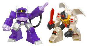 Robot Heroes: Shockwave and Grimlock