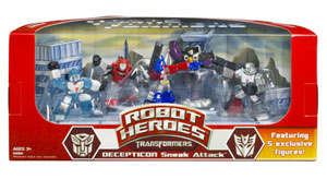 TRANSFORMERS ROBOT HEROES - DECEPTICON SNEAK ATTACK