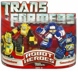 Robot Heroes: Bumblebee and Soundwave