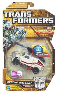 Hunt For The Decepticons - Deluxe - Autobot Rescue Ratchet