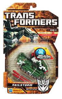 Hunt For The Decepticons - Deluxe - Decepticon Hailstorm