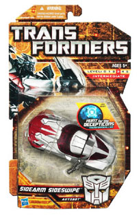 Hunt For The Decepticons - Deluxe - Autobot Sidearm Sideswipe