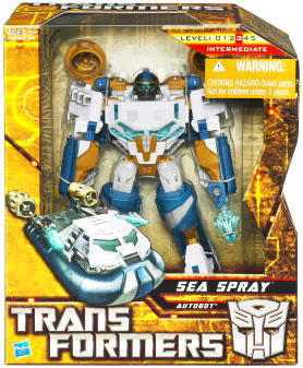 Hunt For The Decepticons - Voyager - Autobot Sea Spray