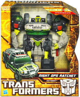 Hunt For The Decepticons - Voyager - Autobot Night Ops Ratchet