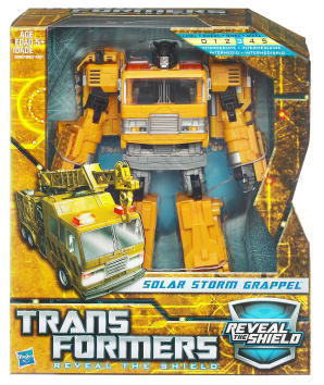 Hunt For The Decepticons - Voyager - Autobot Solar Storm Grappel