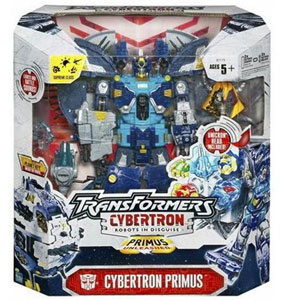Cybertron Primus with Unicron Head