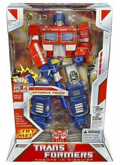 20th Anniversary 12-Inch Optimus Prime