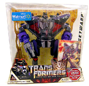 Revenge of the Fallen - Limited Edition Masterpiece Skywarp