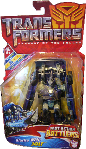 Revenge Of The Fallen  - Fast Action Battlers Electro Whip Autobot Jolt