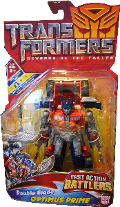 Revenge Of The Fallen  - Fast Action Battlers Double Blade Optimus Prime