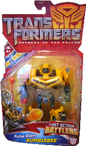Revenge Of The Fallen  - Fast Action Battlers Pulse Blast Bumblebee