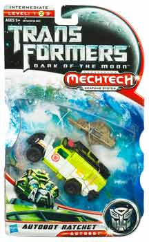 Transformers 3 Movie Deluxe Class - Autobot Ratchet