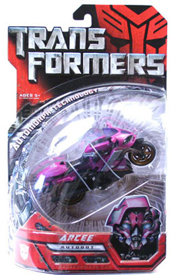 Movie Deluxe: Arcee Purple