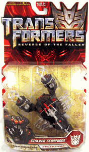 Revenge Of The Fallen Deluxe- Stalker Scorponok