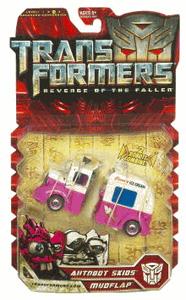 Revenge Of The Fallen Deluxe- Skids and Mudflap Ice Cream Truck