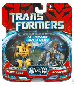 Movie Legends - Bumblebee Vs Scorponok