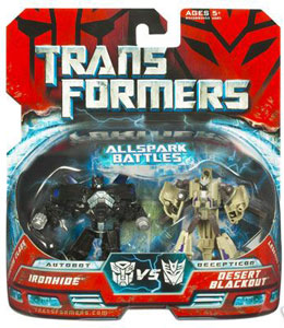 Movie Legends - Ironhide VS Desert Blackout