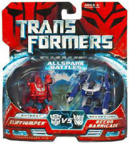 Movie Legends - Cliffjumper VS Recon Barricade