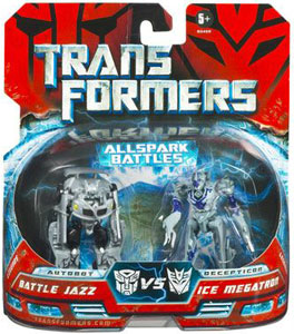 Movie Legends - Battle Jazz VS Ice Megatron