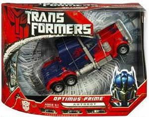 Movie Voyager: Optimus Prime