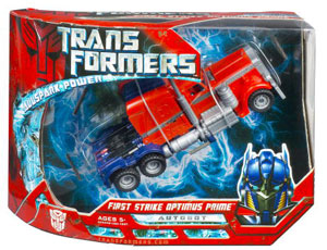 Movie Voyager - First Strike Optimus Prime