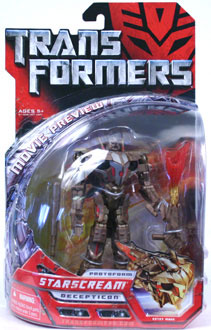 Protoform Starscream Sneak Preview Figure